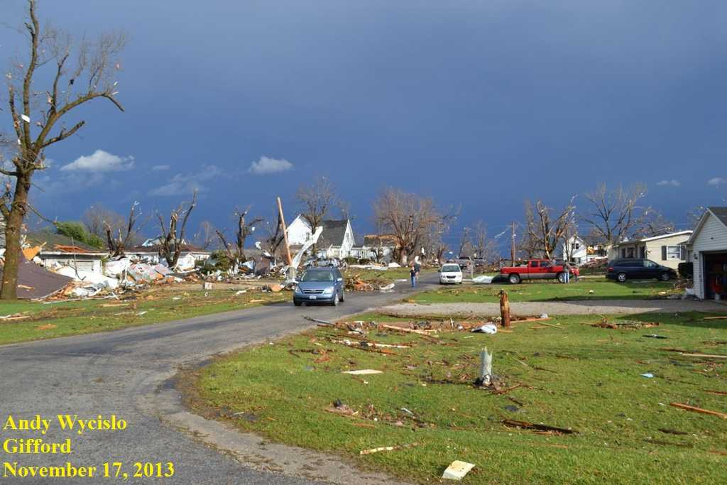 Illinois vermilion county armstrong - Storm Damage In Gifford Photo By Andy Wycislo