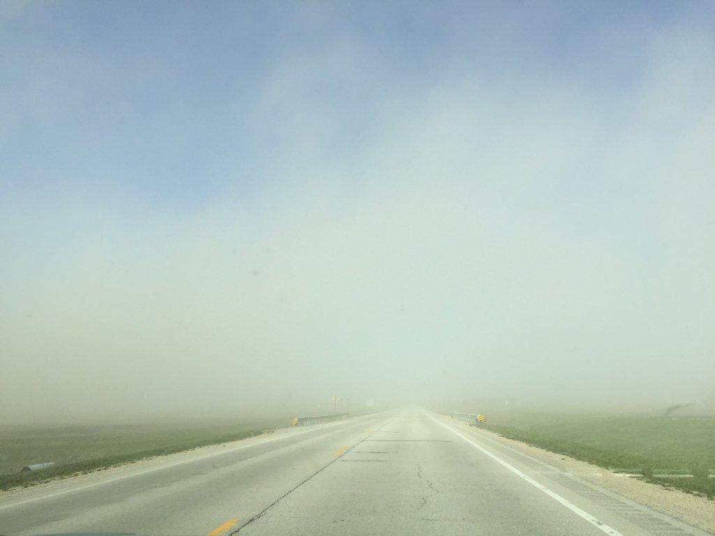 Illinois piatt county cisco - Blowing Dust Near Windsor Photo By Everett Lau