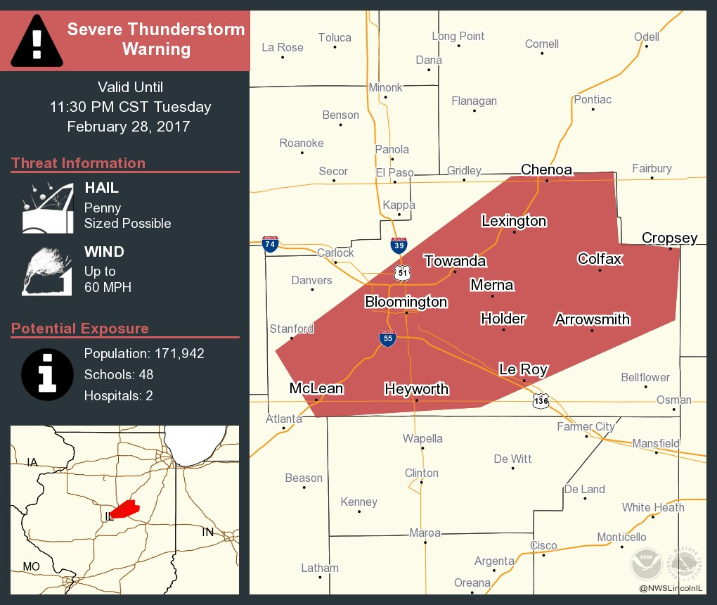 Illinois brown county versailles - Severe Thunderstorm