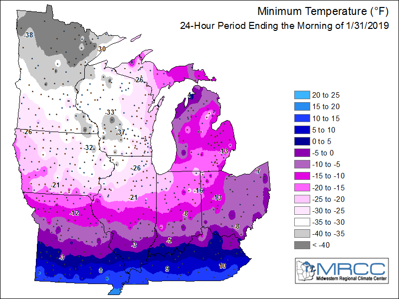 Minimum Temperatures