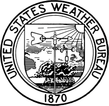 US Weather Bureau established, 1870.
