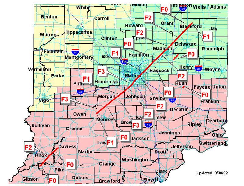 September 20 2002 Indiana Tornados