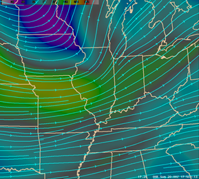 Jet Stream Image Valid at 3:00 PM - Click to Enlarge
