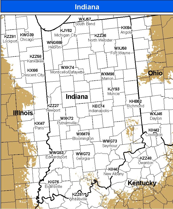 NOAA All Hazards Weather Radio - Average us tornado map national weather service