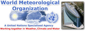 link to World Meteorological Organization. Clicking link will open a new window