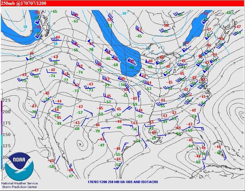 8am 250 mb analysis