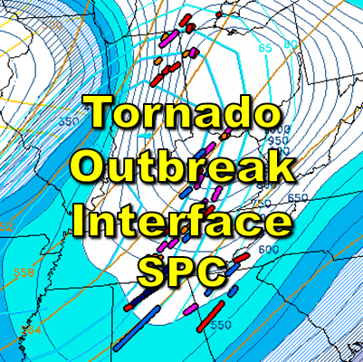 Tornado Outbreak Interface