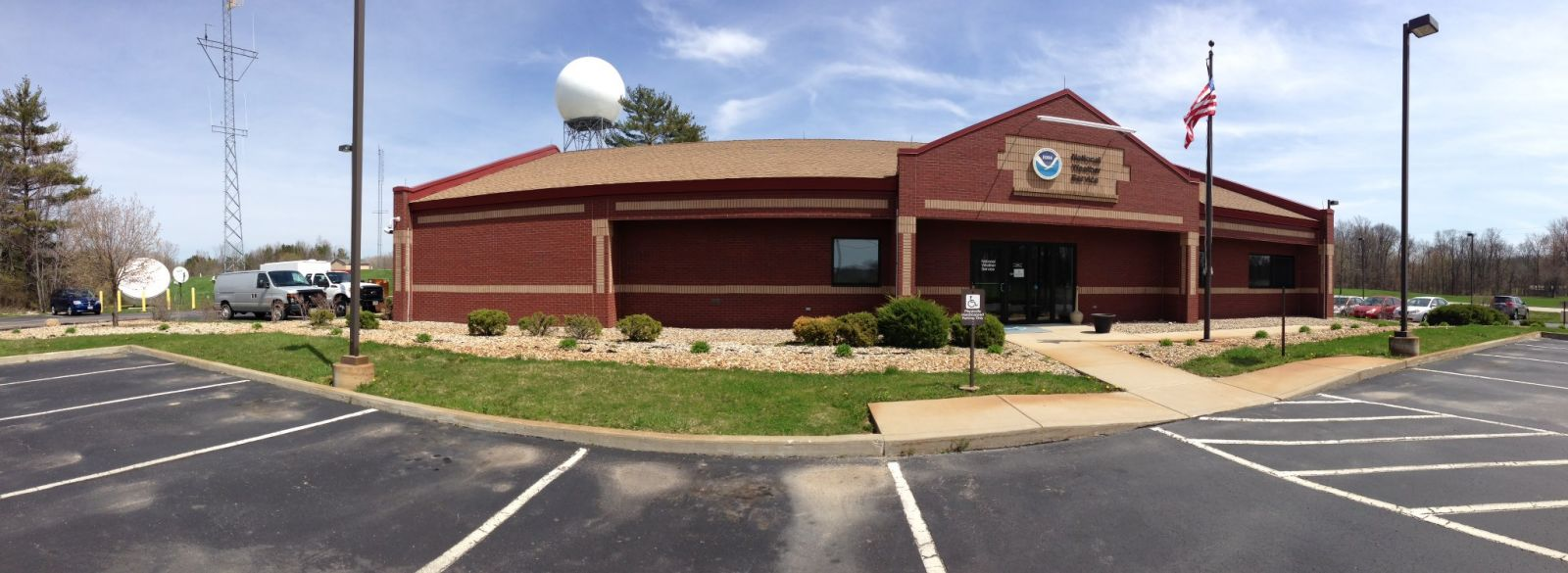 Northern Indiana National Weather Service Weather Forecast Office (exterior view)