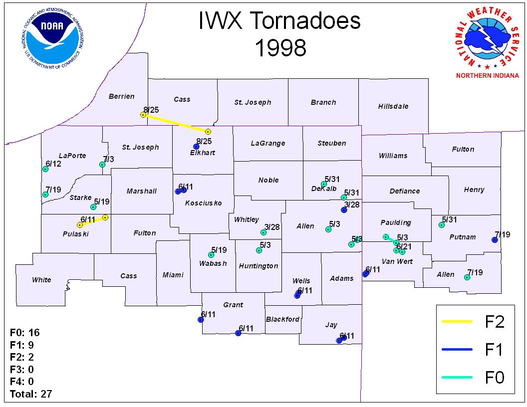 Tornado Information Page