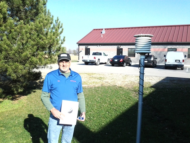 Decatur Sewage Treatment Plant Employee 25 Year Award