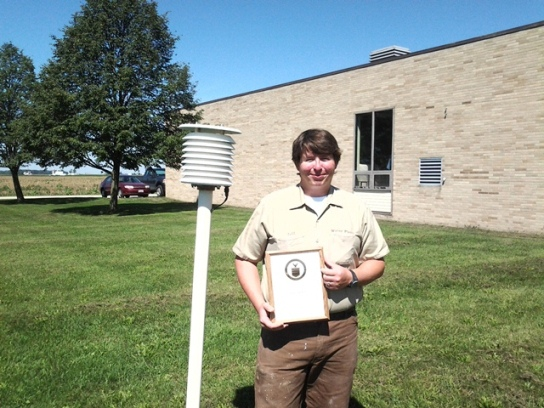 Wauseon, OH Water Treatment Plant Employee 10 Year Award