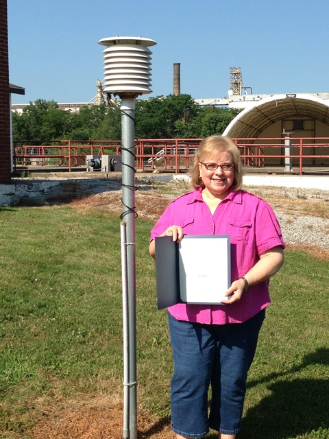 Decatur, IN Sewage Treatment Plant Employee 25 Year Award