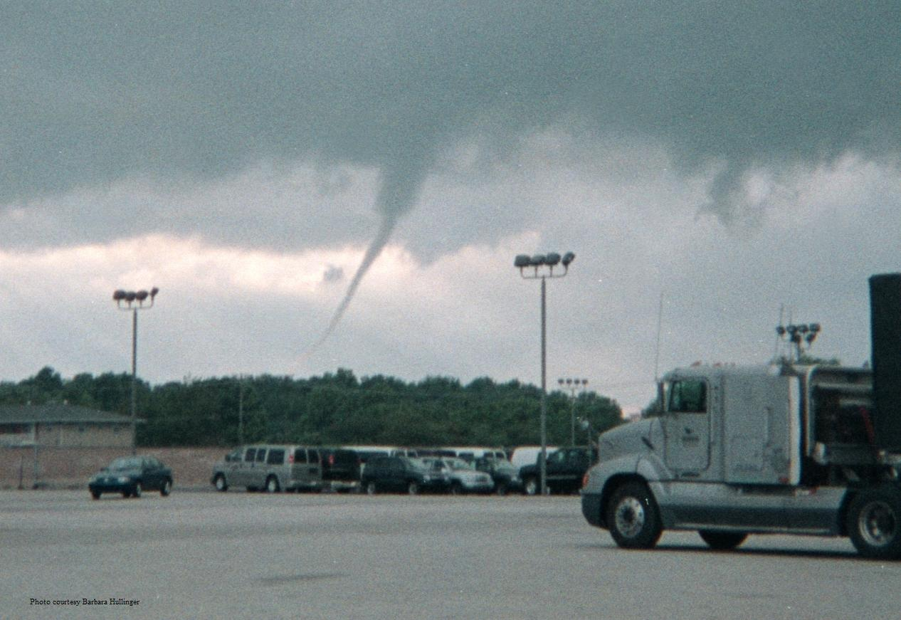 Tornado in Marion Indiana 2003