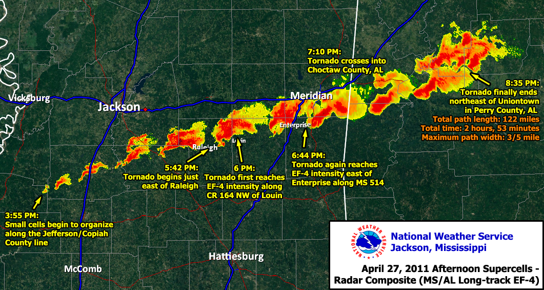 Nws Jackson Ms April 25 27 2011 Severe Weather Outbreak