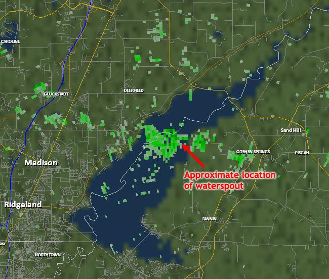 Nws jackson ms august 19 2012 ross barnett reservoir for Ross barnett fishing report