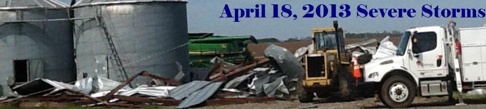NWS Jackson, MS April 18, 2013 Sharkey County Tornado