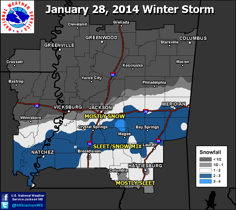 Snow Accumulation Map