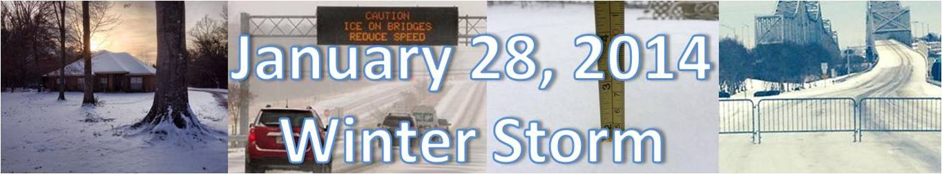 January 28, 2014 Snow Event