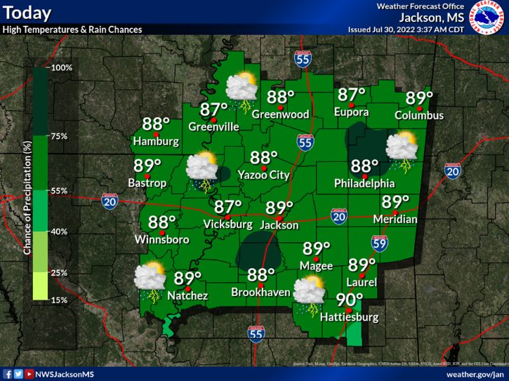 Flash Flooding And River Flooding Will Be Likely Tuesday Through At Least Thursday As Repeated Bouts Of Heavy Rain And Thunderstorms Move Across The