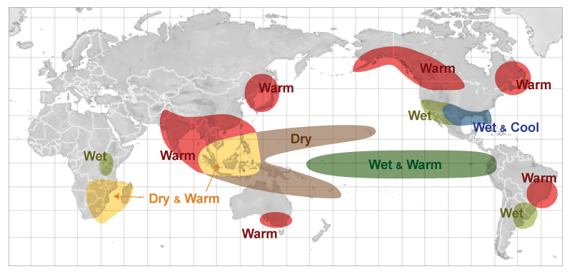 NWS JetStream - Weather Impacts of ENSO