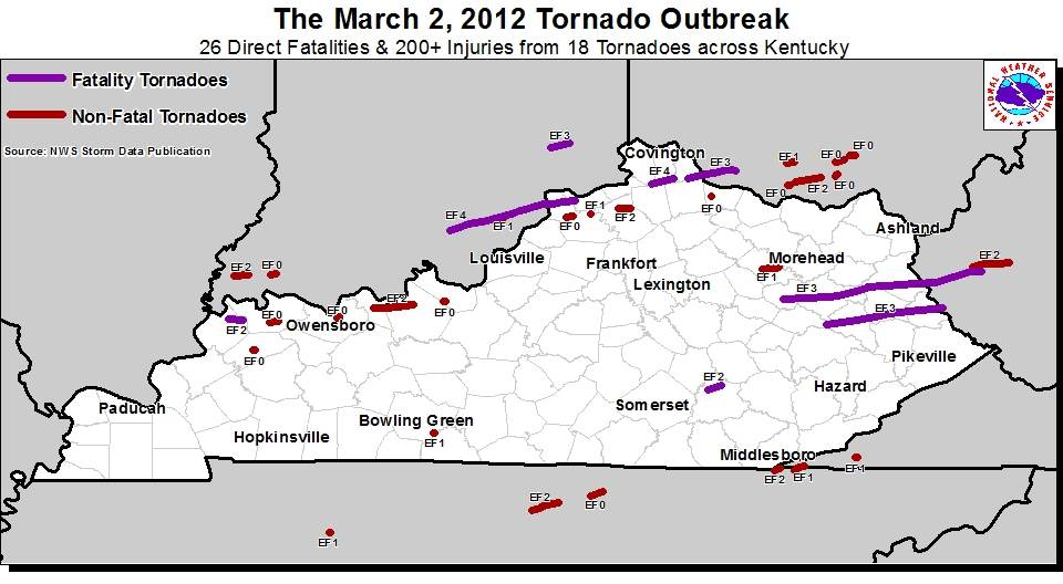 Summary of the March 2, 2012 Tornadoes on irvine ky map, harlan county kentucky map, campbellsville kentucky map, city map, kuttawa ky map, independence ky map, martin co kentucky map, kermit wv map, louisa ky street view map, wheelwright ky on kentucky map, irvington ky map, jamestown ky map, liberty ky map, ky county map,