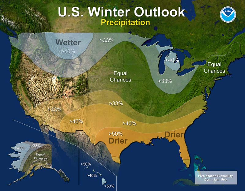 Noaa Winter Outlook What It Means For East Kentucky: Noaa Weather Map Usa At Infoasik.co