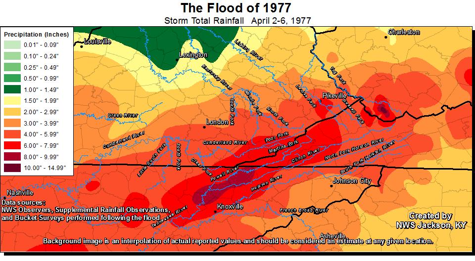The East Kentucky Flood of April 1977