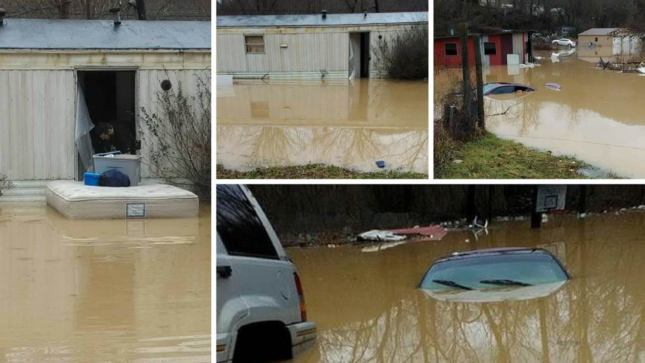 South Hills Dodge >> Prolonged Rainfall Leads to Flooding in Southeast Kentucky - February 10-11, 2018