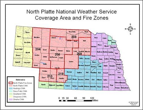 North Platte Fire Weather Forecast Services