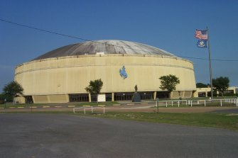 Scenes from Lake Charles - Burton Coliseum