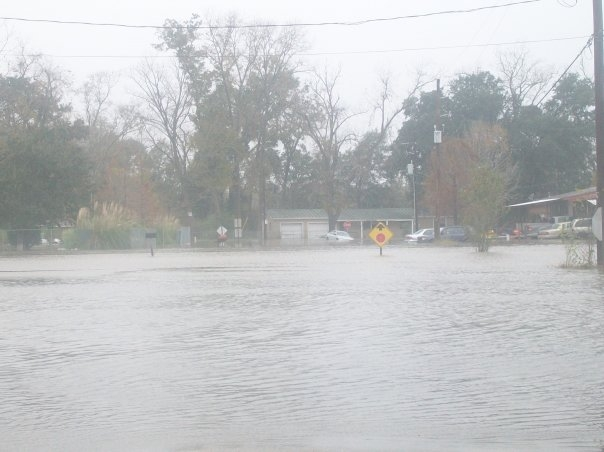 Hazard Road Flooding