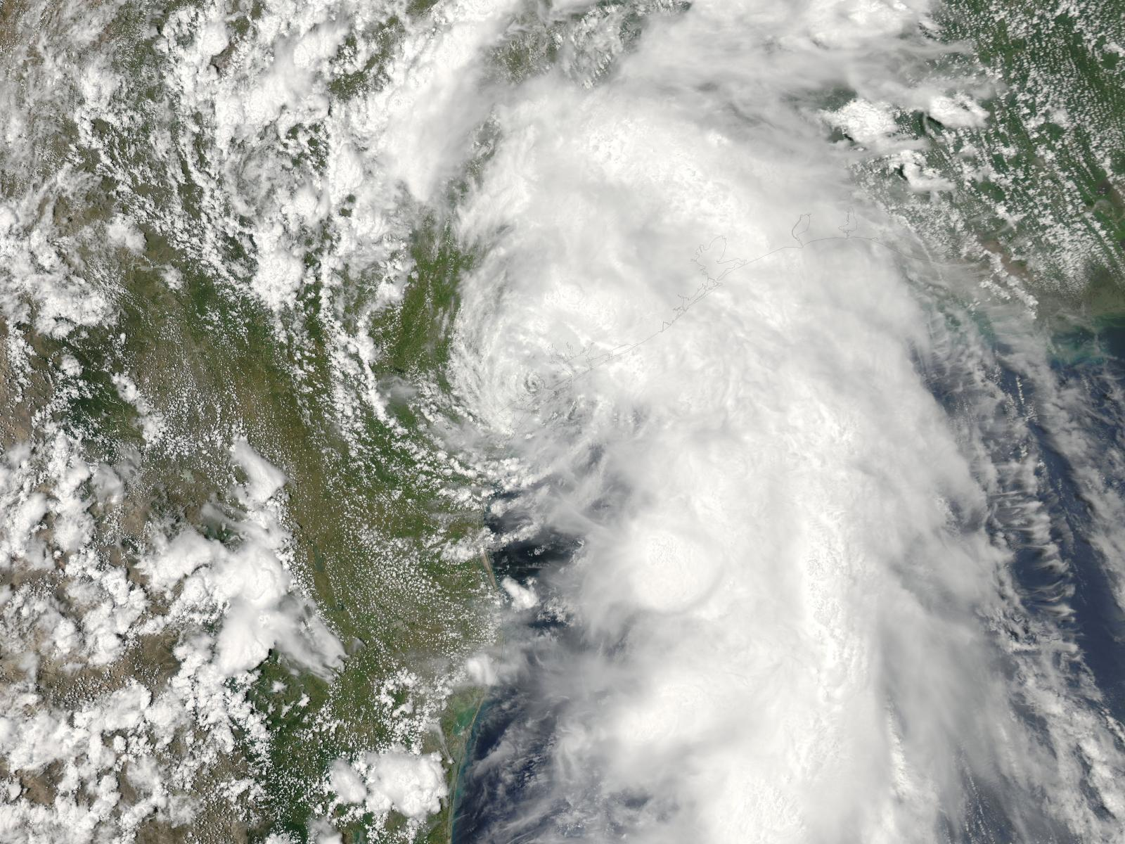 TS Bill satellite image
