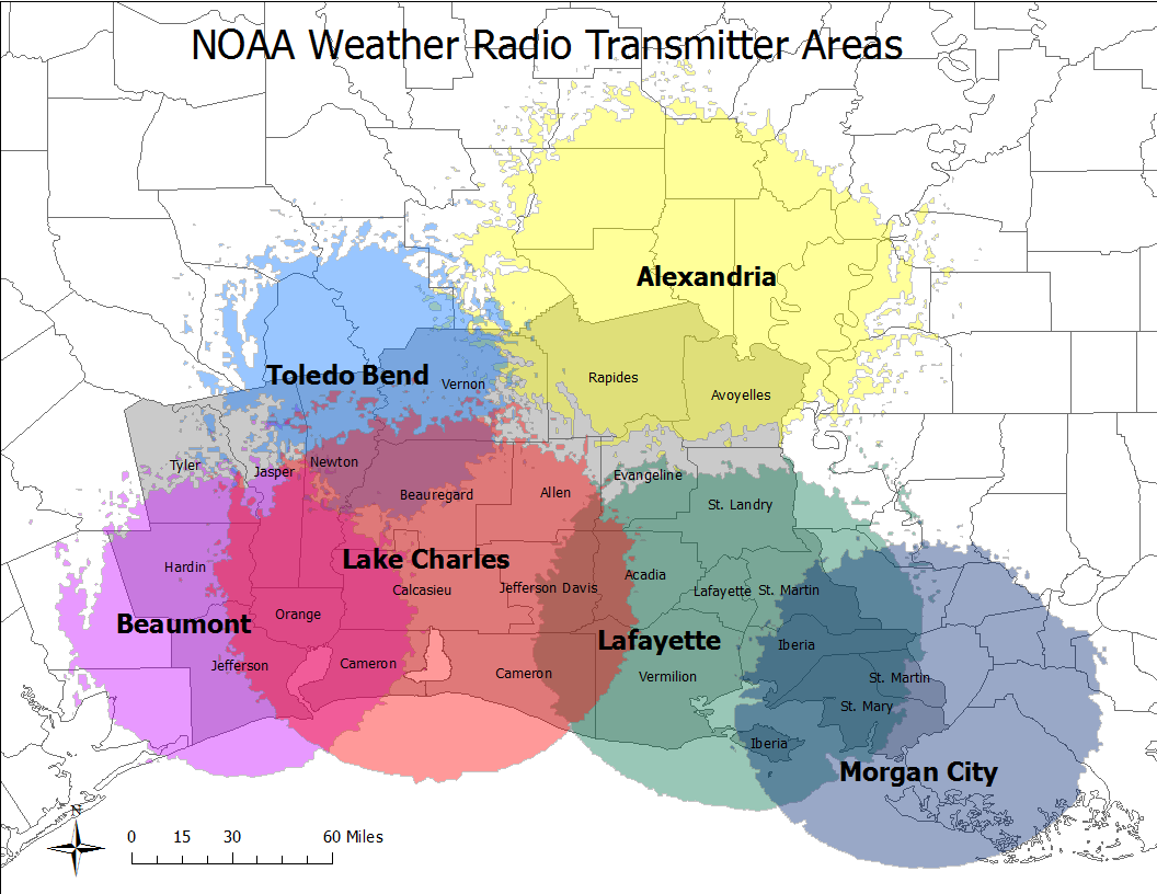 NWS LCH's NWR transmitters - click for more info