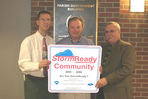 Calcasieu StormReady ceremony image