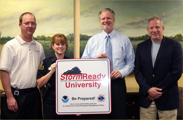 McNeese State StormReady ceremony image