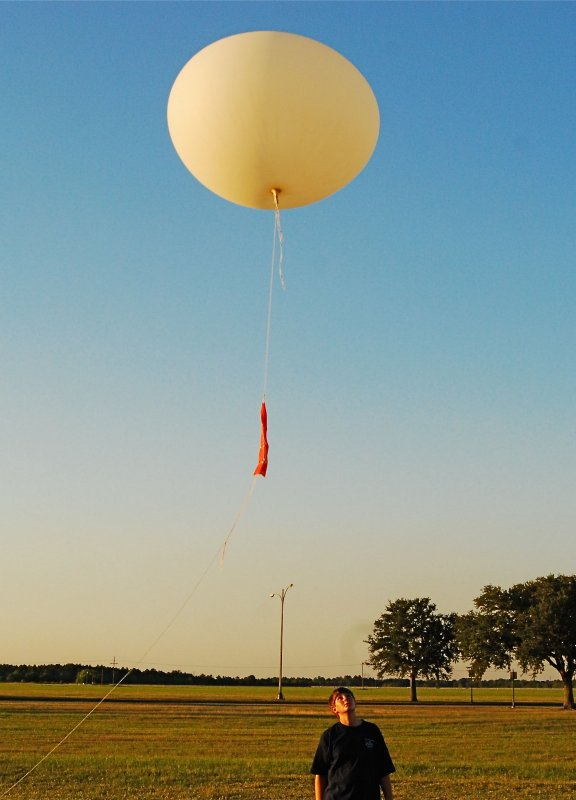 NWS LCH balloon launch video image