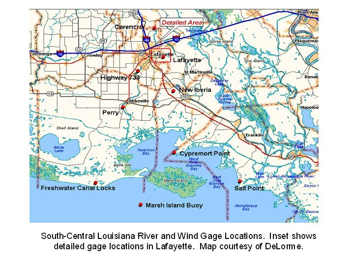 S-C Louisiana map image for Rita