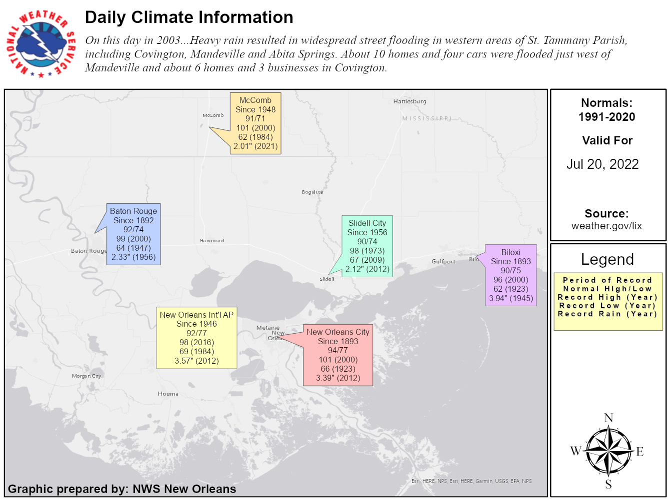Image of Climate Data for Today