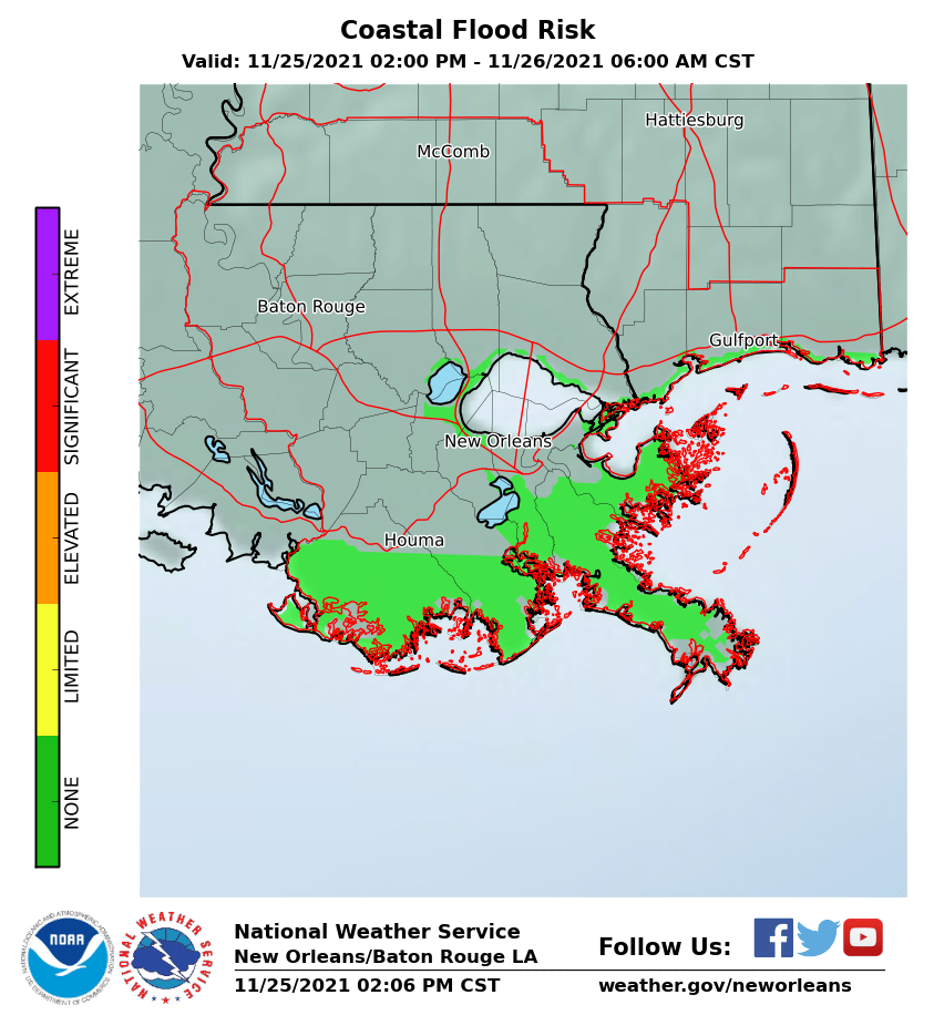 Coastal Flood Risk