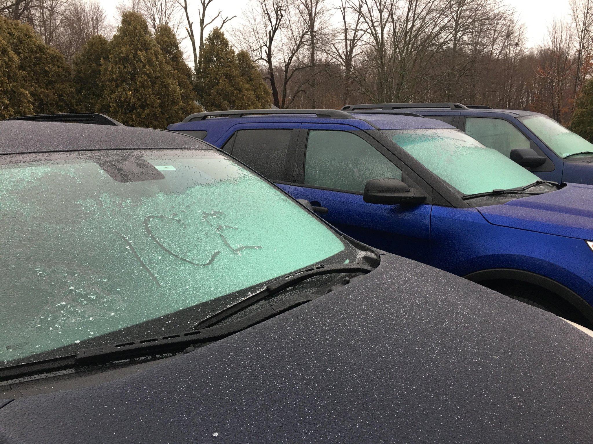 Summary of January 12, 2018 Winter Storm
