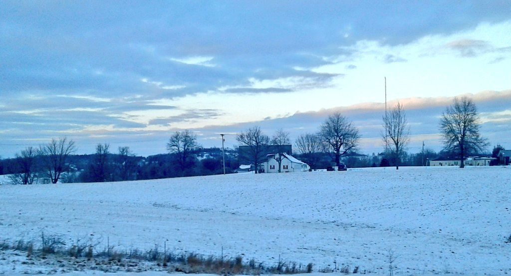 Leitchfield KY snow January 12, 2018