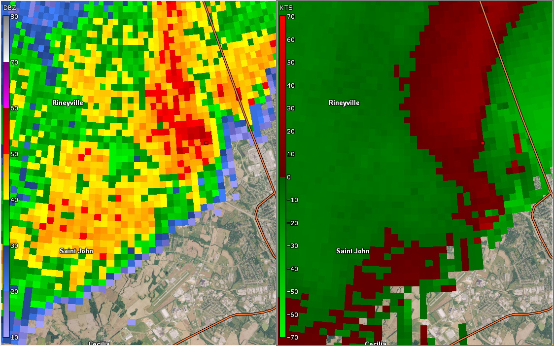 Ef 1 Tornado Confirmed In Hardin County Ky