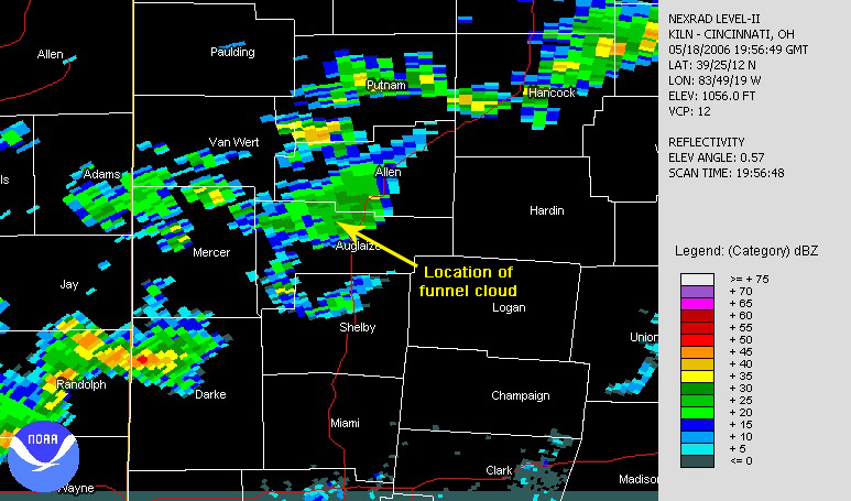 Reflectivity May 18, 2006
