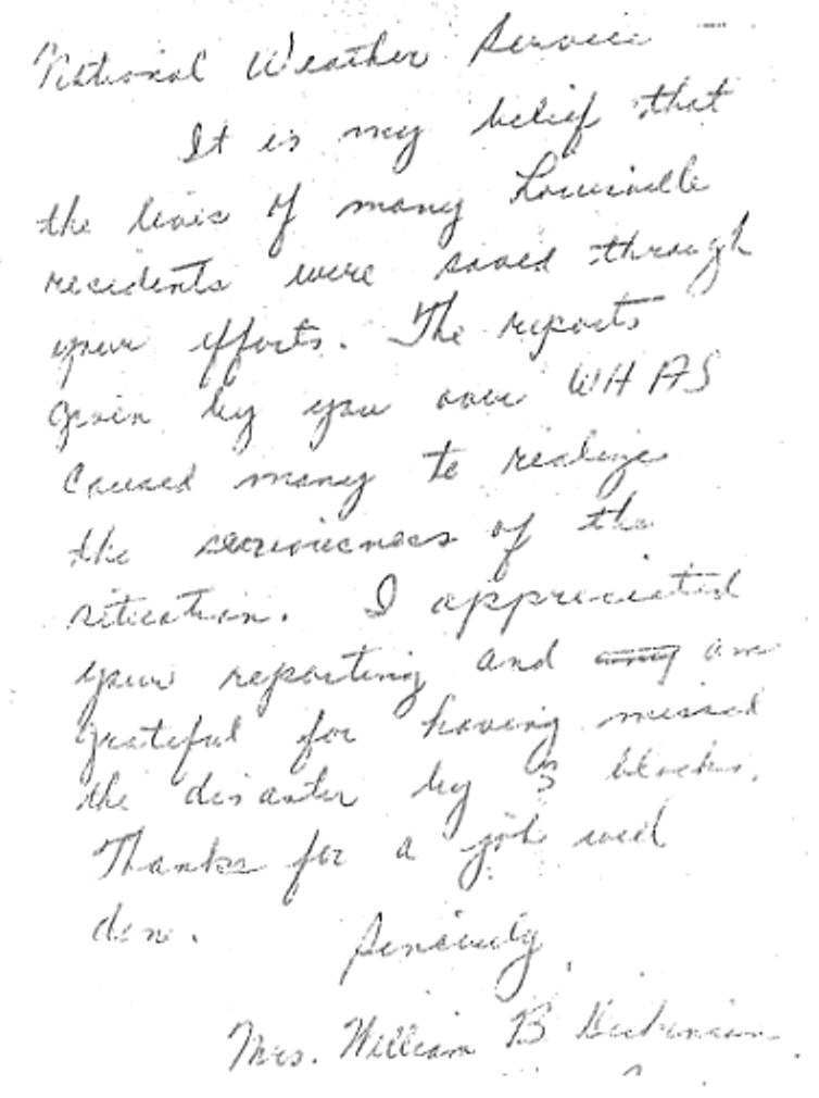 Dickinson letter