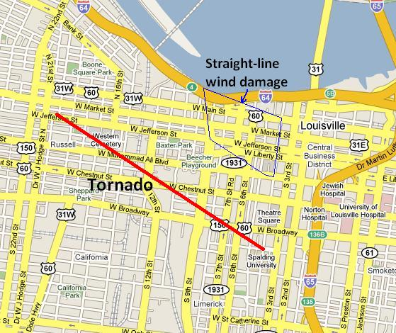 Tornado Climatology of Jefferson County, Kentucky