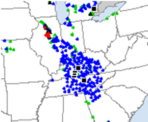 Storm Reports from July 13, 2004
