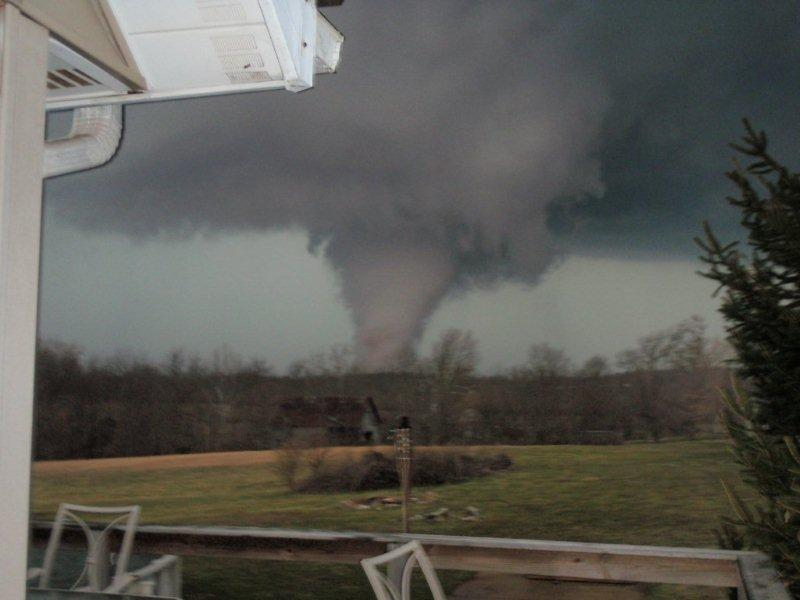 EF4 tornado in Washington County, Indiana