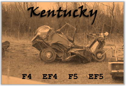 Banner for Violent Kentucky Tornadoes