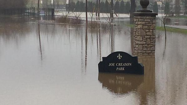 April 2015 was a wet one for Joe Creason park in Louisville. photo: weather.gov