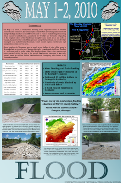 May 1-2, 2010 Major Flood Event